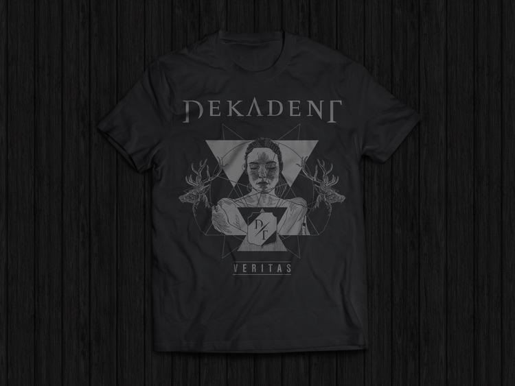 design Dekadent: Veritas - tshirtdesign - felicijansedmak | ello