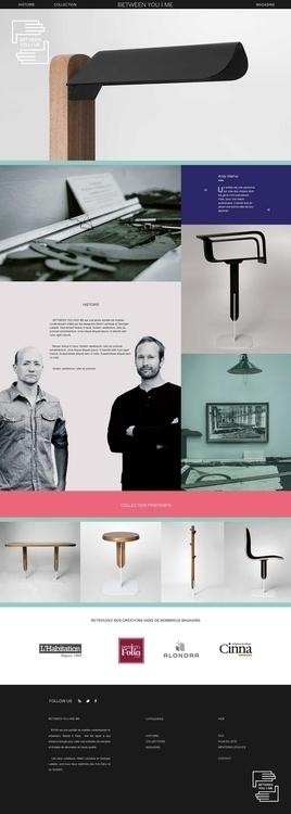 Visual Identity web design prod - louisalemarchand   ello