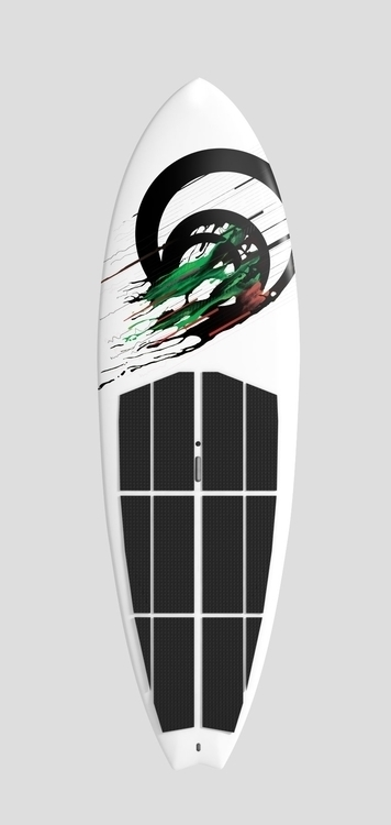 Graphics FLIKKA surfboard - surfing - felicijansedmak | ello