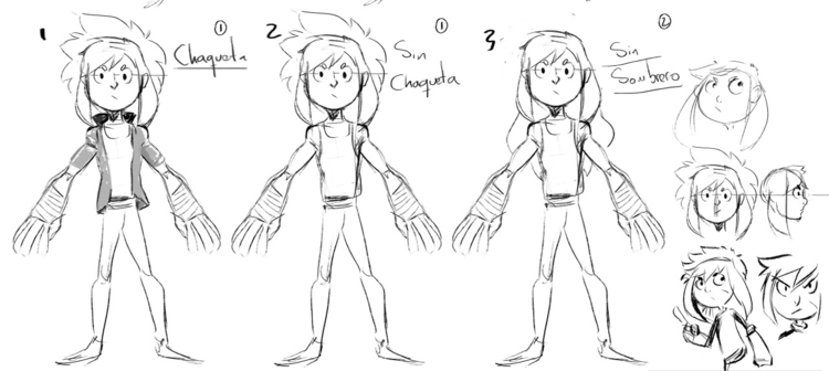Rusty - characterdesign, conceptart - kevingalanton | ello