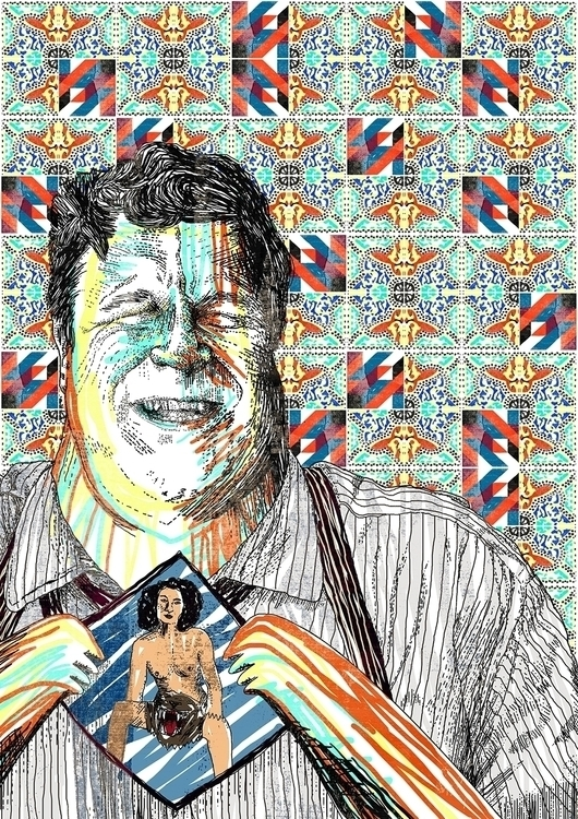 John Goodman - Barton Fink - illustration - maitediez | ello