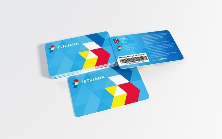 Bus ID cards ARRIVA Slovenia - graphicdesign - felicijansedmak | ello
