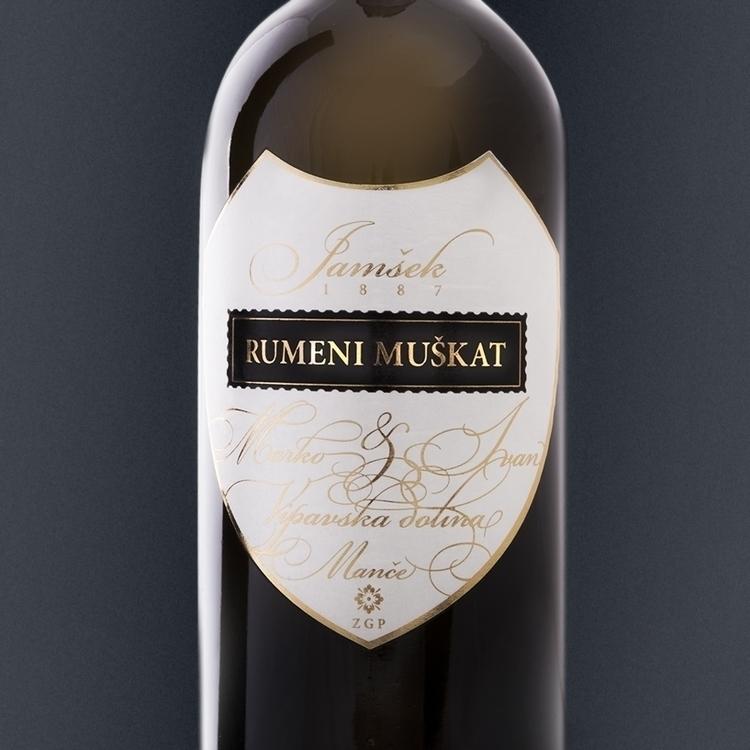 wine label design Jamsek - winelabel - felicijansedmak   ello
