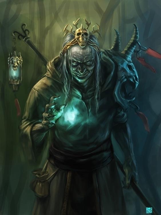 Necromancer - necromancer, Fantasy - scorbutman | ello