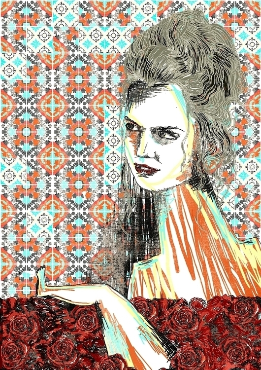 Mena Suvari - American Beauty - illustration - maitediez | ello