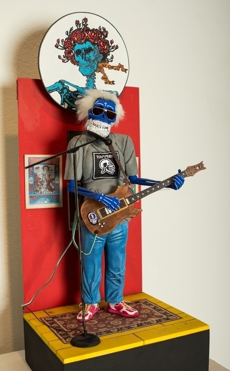 Jerry Tribute Garcia - chicano, vigil - vigilart | ello