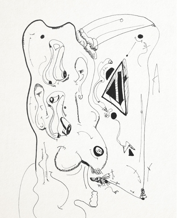 SketchTown - 010, sketch#sketchbook#drawing#ink#penink#characterdesign#character#fantasy#cartoon - rubbo | ello