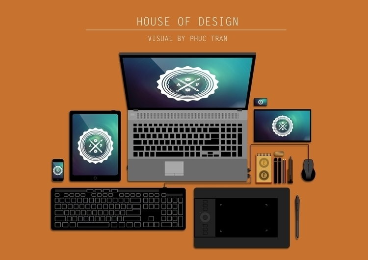 House Design - vectorart, tools - artyp | ello