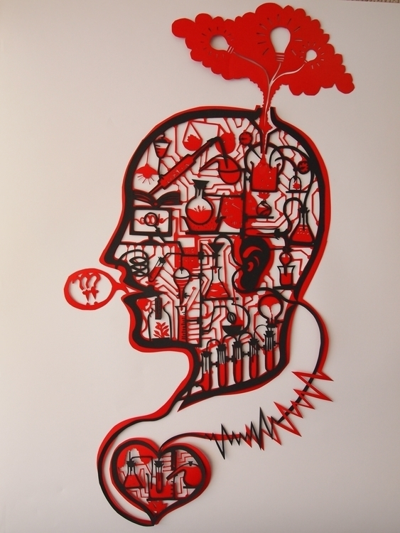 Thought Process - papercut, thoughtprocess - janakilele | ello