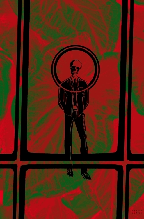 Xi - illustration, psychedelic - divyasingh-9317 | ello
