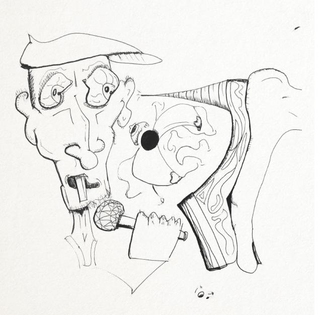 SketchTown - 018, sketch#sketchbook#drawing#ink#penink#characterdesign#character#fantasy#cartoon - rubbo | ello