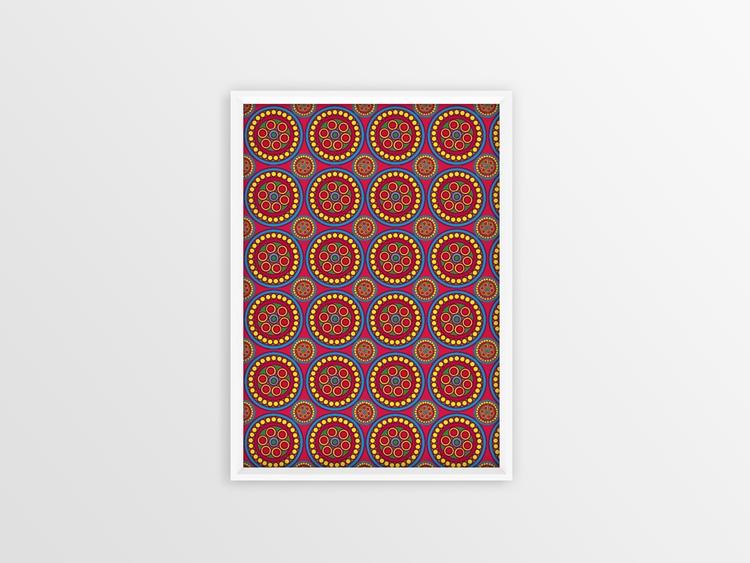 pattern painting - design, patterndesign - grafika-5226 | ello