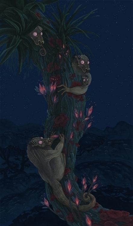 Mytkiis - illustration, conceptart - abby_williams | ello