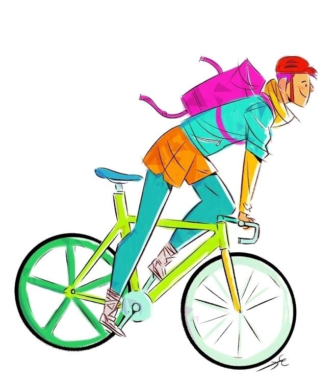 Biker - escudero-1172 | ello