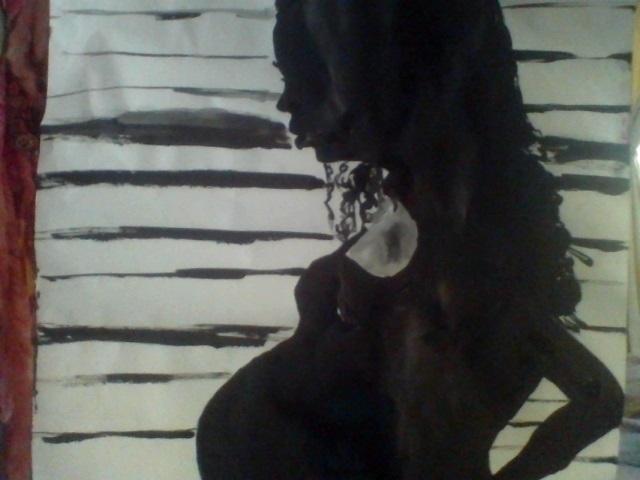 Baby silhouette - babypregancy,life - loveart_wonders | ello