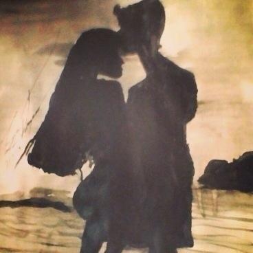 Kissing forehead - loveart_wonders | ello