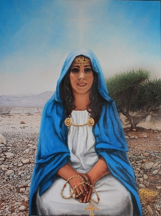 Miriam Nazareth - painting, ethnic - artbyjpp | ello