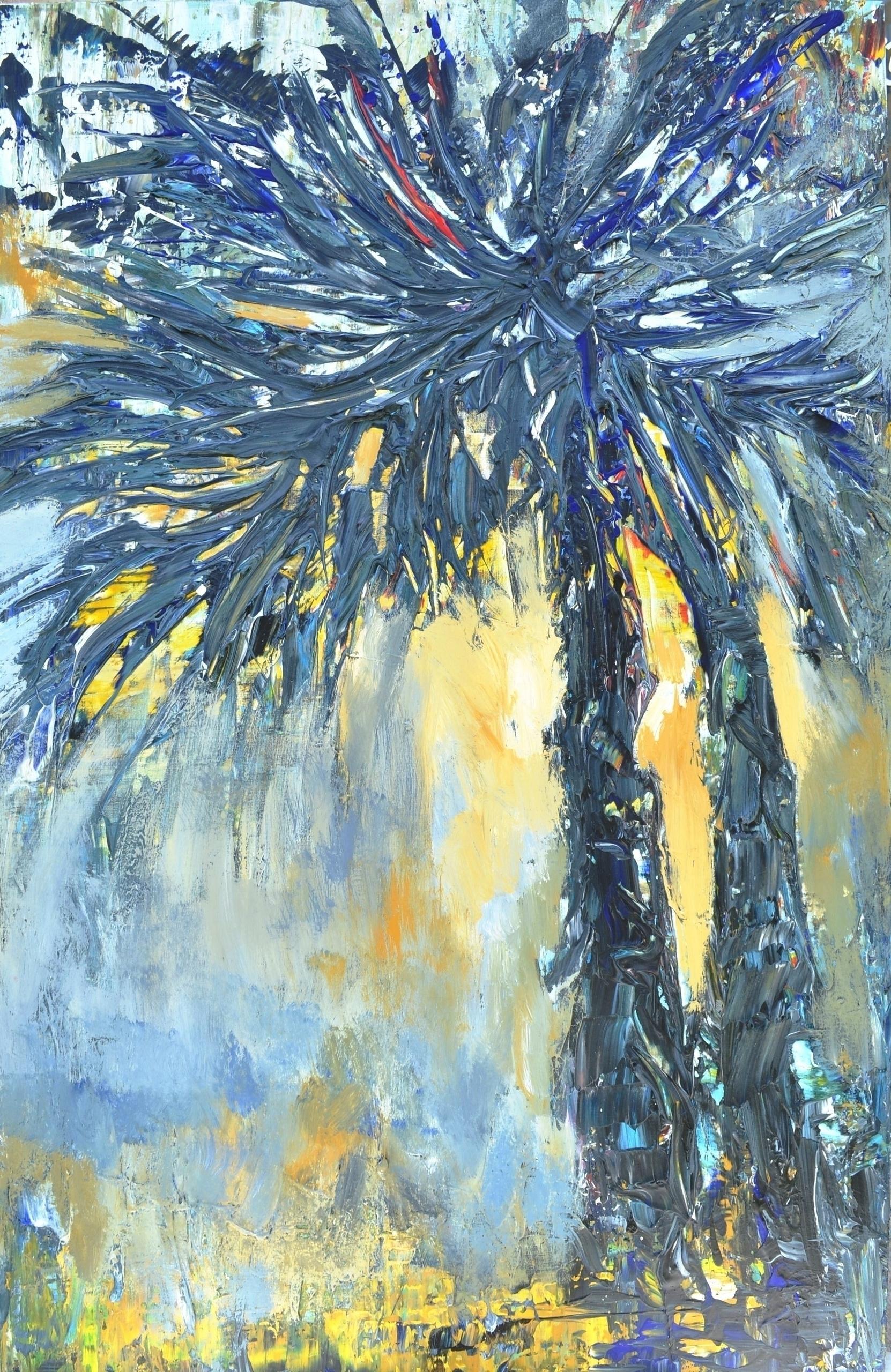Palms 140x90 Acrylic canvas. 20 - tanya_vasilenko | ello