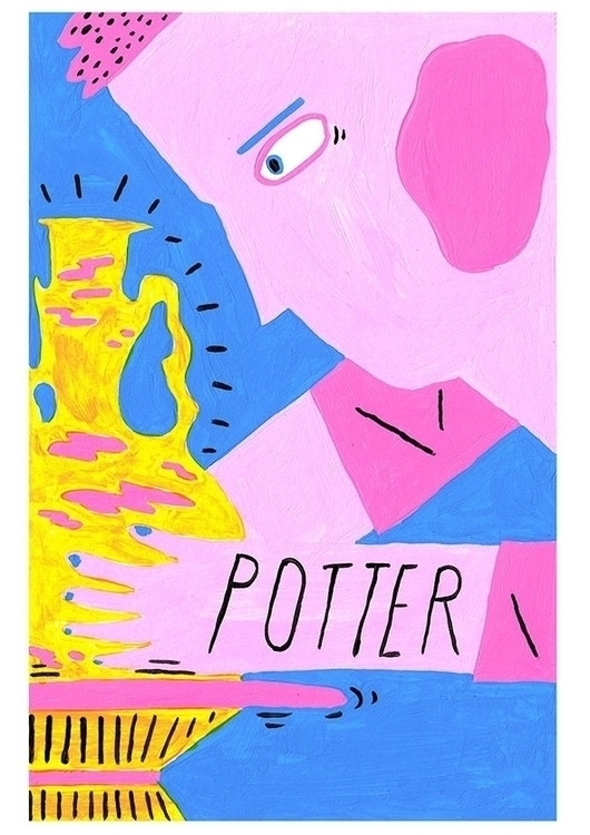 Potter - potter, illustration, colour - jaybarnham | ello
