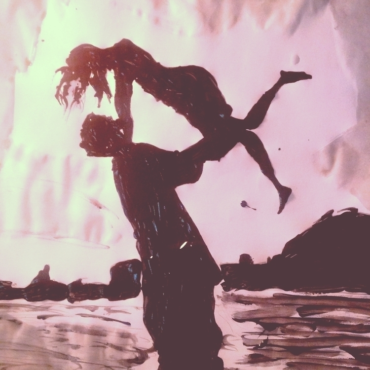 Holding Lover - held, love, lover - loveart_wonders | ello