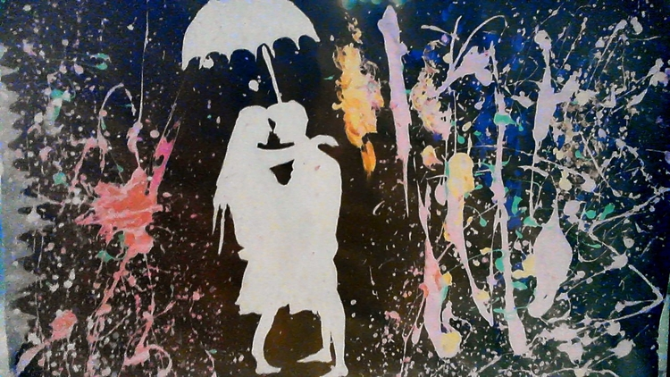 Abstract Couple Love - loveart_wonders | ello