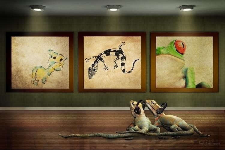 Day Museum (lizards created Bru - kimwhit-2847 | ello