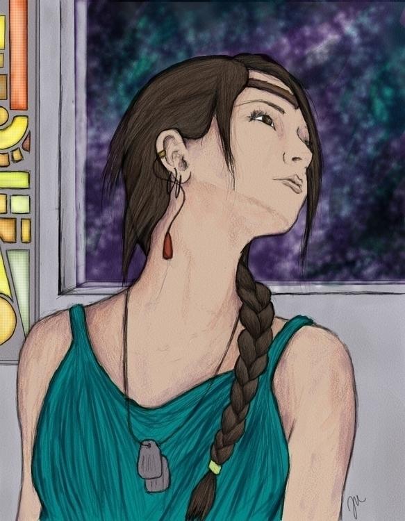 Majesty Serrena Caren - illustration - fickle_muse | ello