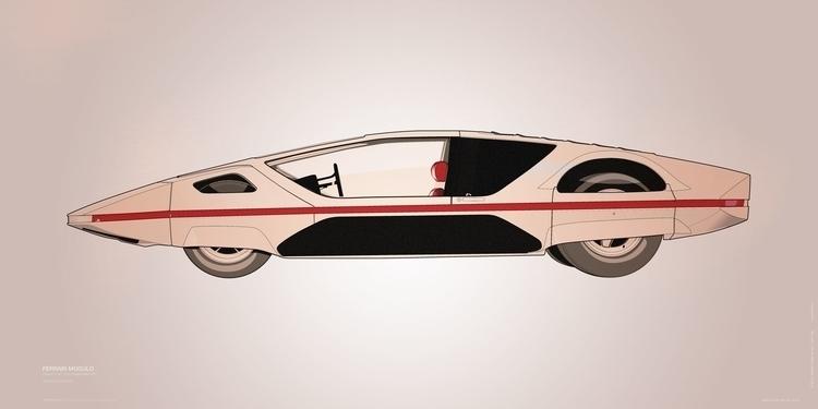 Ferrari Modulo 01-1 - illustration - itemlab | ello