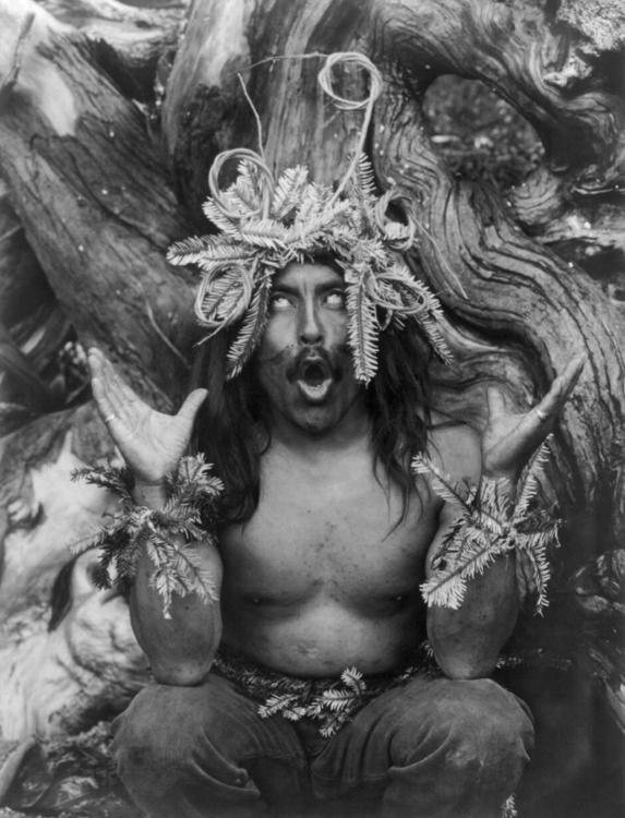 Hamatsa shaman quote (photo Edw - metabaron777 | ello