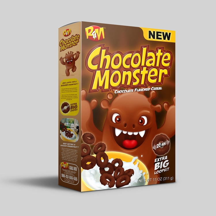 Chocolate Monster - Flavored Ce - renemartin | ello