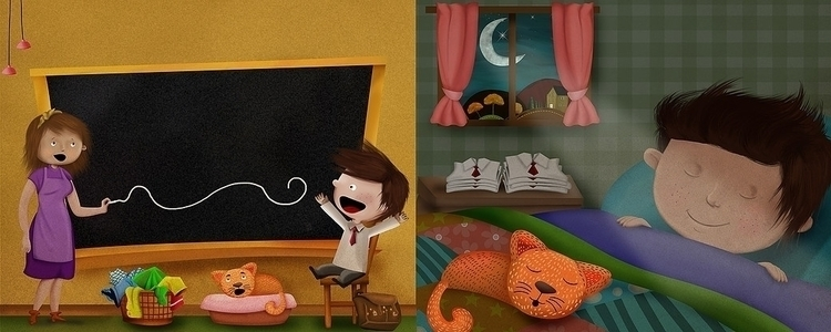 Illustrations Picture Book Magi - marfandosart | ello