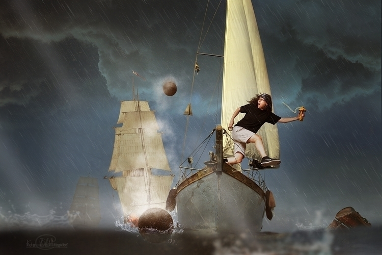 Escape - ship, jump, cannons - kimwhit-2847 | ello