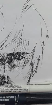 illustration, painting, penink - octoberrrr | ello