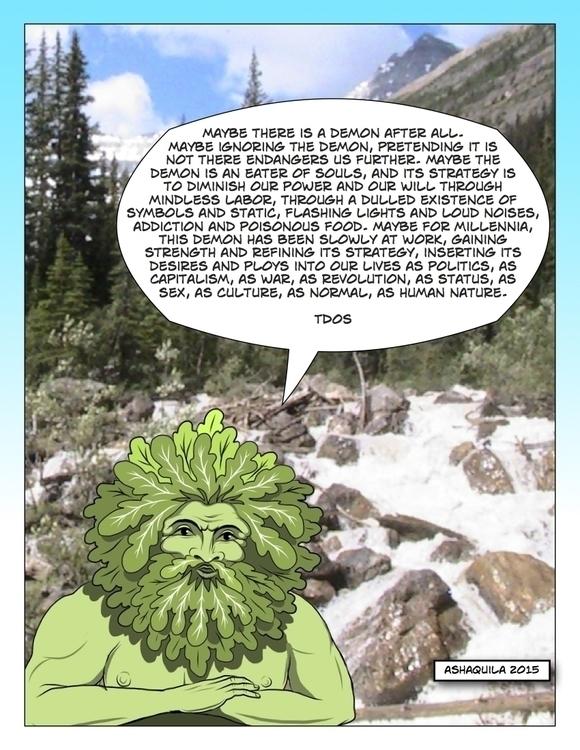 TDOS quote - green,greenman,greenun,woodwose,forestguardian - metabaron777 | ello