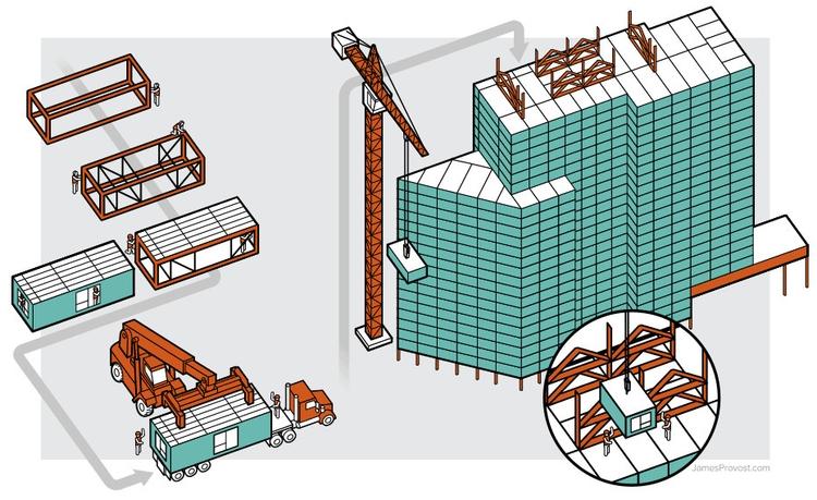 Modular Construction - line, lineart - jamesprovost | ello