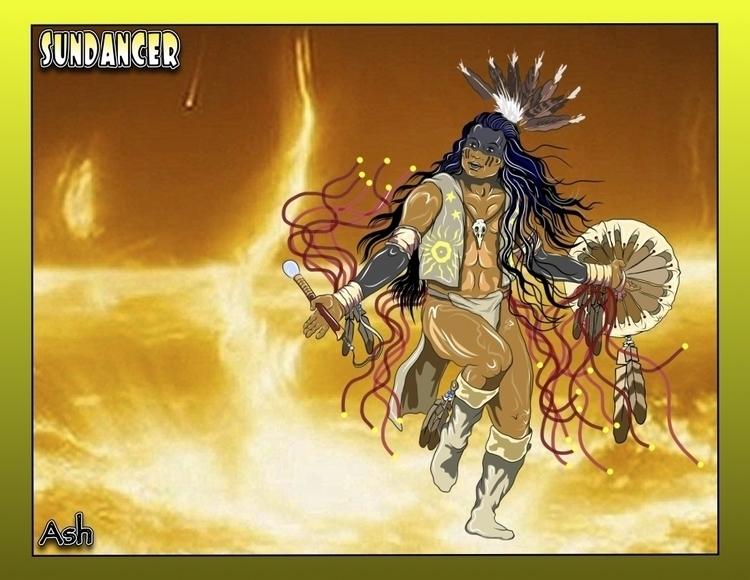 Sun Dancer - native,nativeamerican,nativeamericandancer,firstnations,firstnationsdancer,sundancer,medicine,medicinewheel,medicinedancer,ghostshirt,ghostdance,ghostdancer,shaman,witchdoctor,shamanka,healer - metabaron777   ello