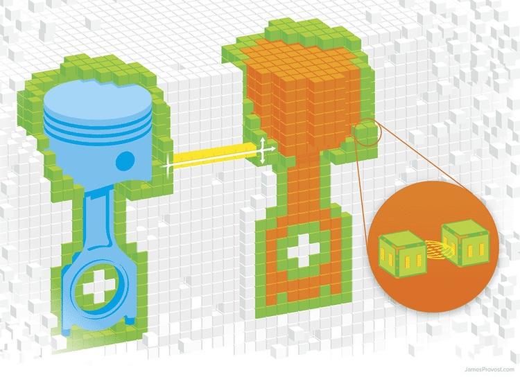 Robot Pebbles - infographic, robot - jamesprovost   ello