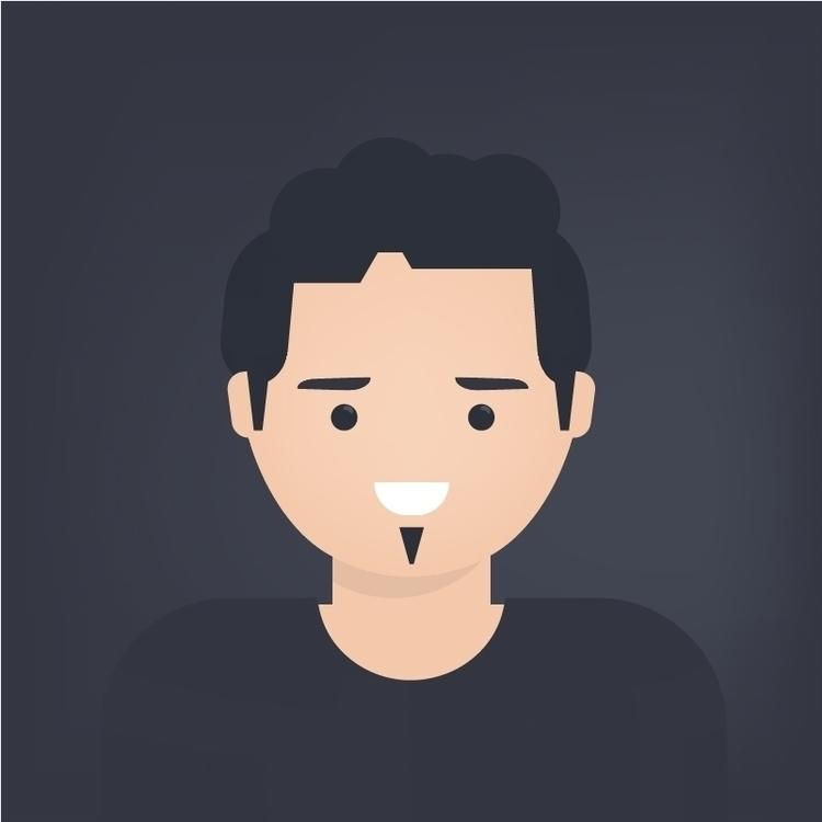 flatdesign, characterdesign, face - premfromindia | ello