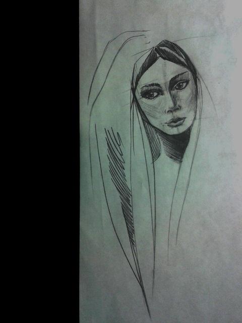 illustration, art, pencil, drawing - octoberrrr   ello