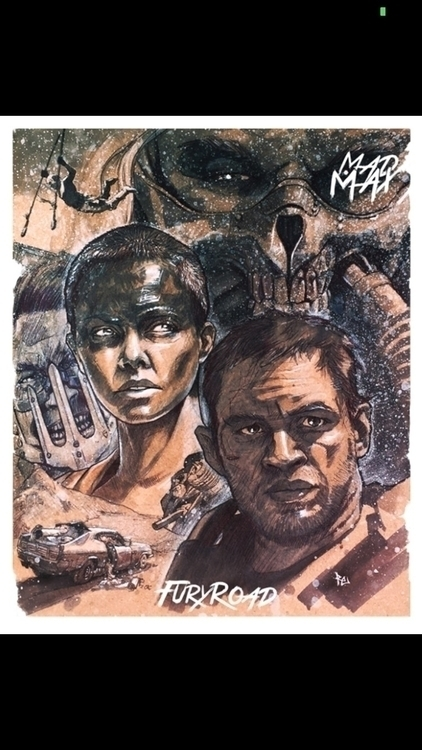 Mad Max Fury Road tribute poste - robertekblom | ello