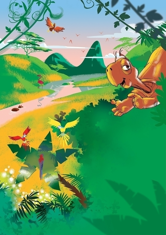 illustration, children'sillustration - tiho-3213 | ello