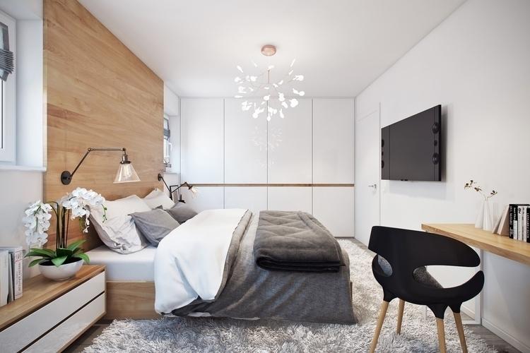 Quiet place - 3d, bedroom, light - olesyaligay | ello