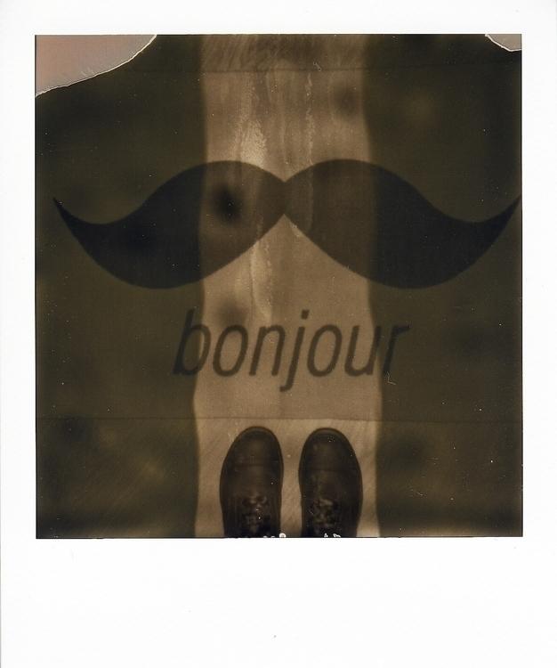 photography, polaroid, bonjour - juliahs-1141 | ello