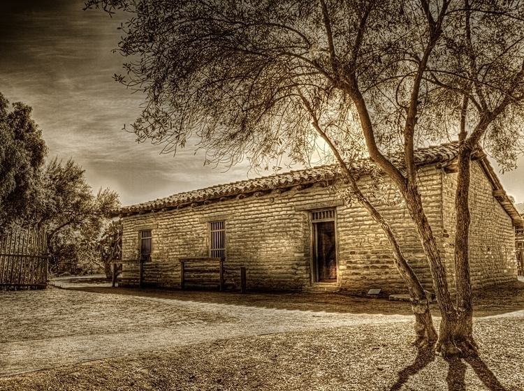 School House, San Diego Town - photography - rsdunphy | ello