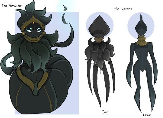 ancestors - illustration, characterdesign - rem-7093 | ello