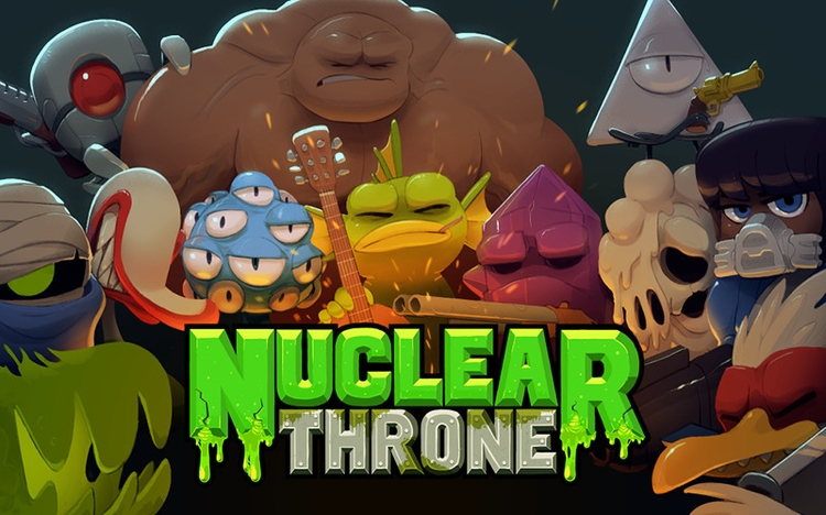 Wasteland Kings Queens - nuclearthrone - justinchan-1699 | ello