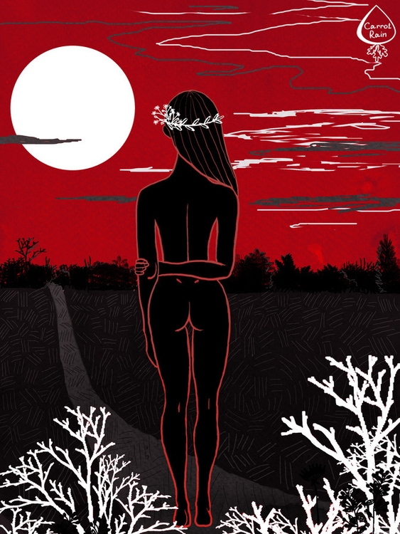 youth - illustration, girl - carrotrain | ello