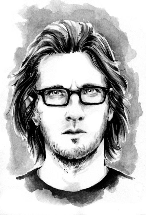 portrait, stevenwilson, musician - annagosteva | ello