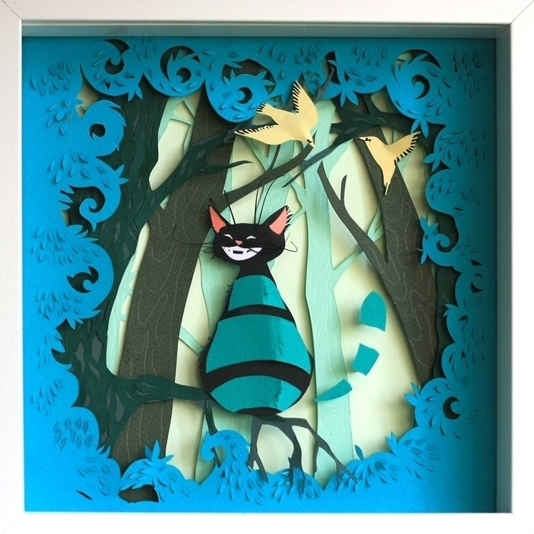 Cheshire Cat - aliceinwonderland - talamaskanka | ello