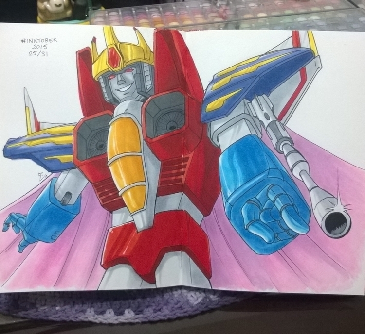 Bow king 25/31 - fanart, starscream - dandansama | ello